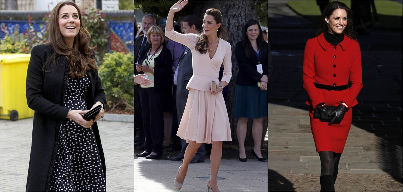 Kate Middleton es la royal favorita para vestir, le encanta reciclar outfits y siempre luce impecable. Archivo
