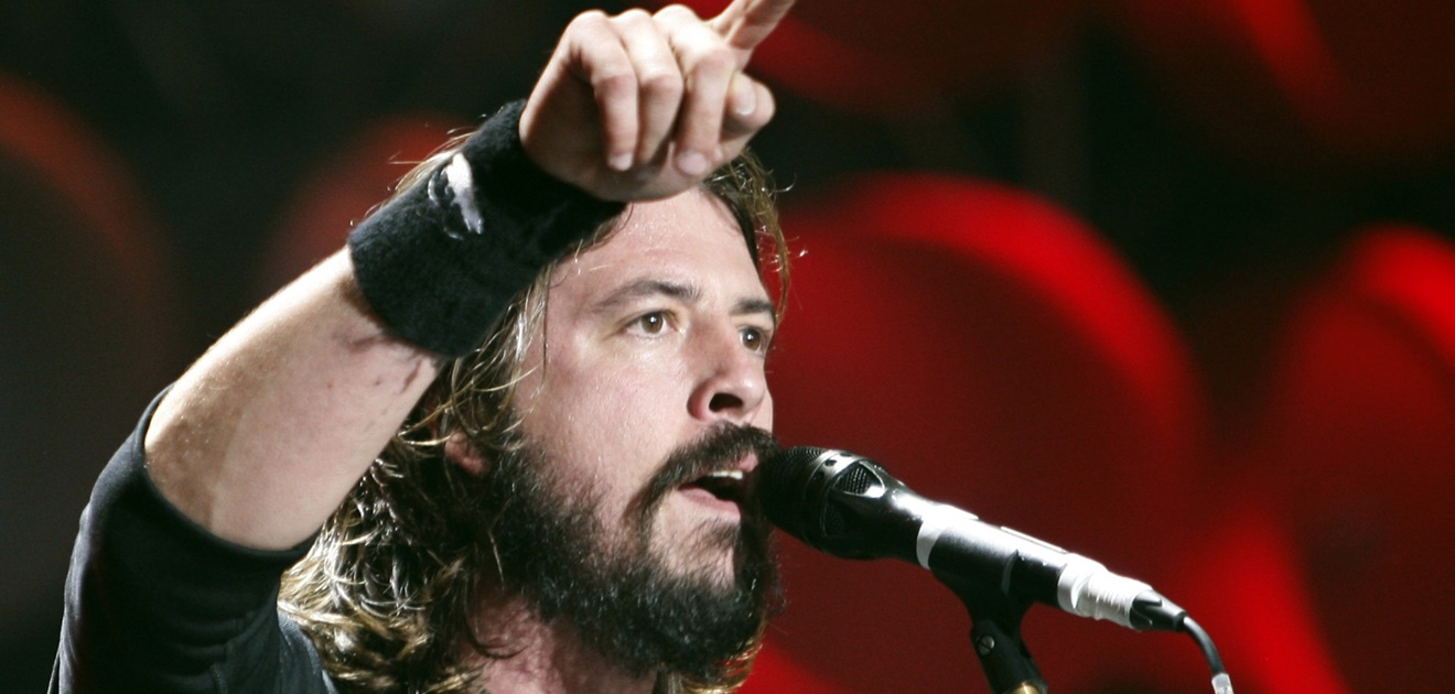 dave grohl y su hija, dave grohl y nirvana, dave grohl reencuentro con nirvana