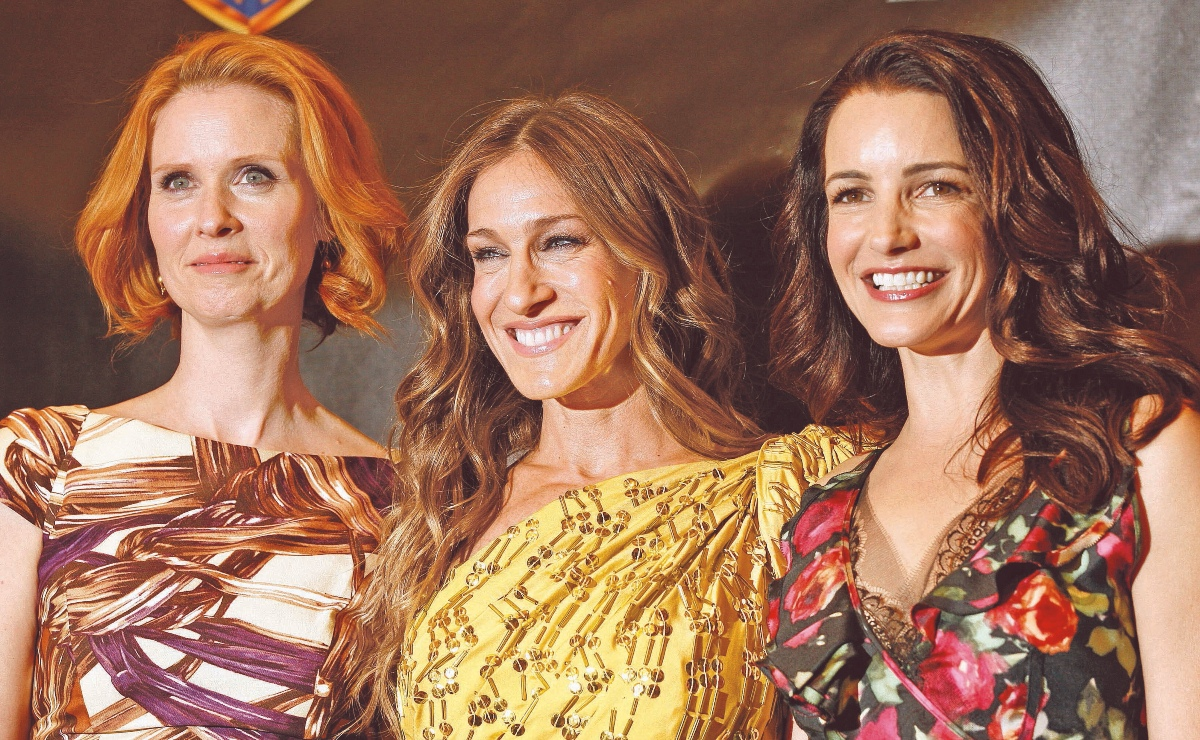 cynthia nixon sarah jessica parker kristin davis estilo sex and the city recrear 2021
