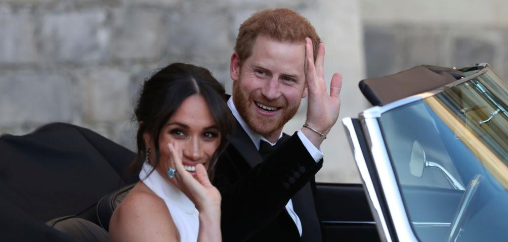 meghan markle principe harry boda