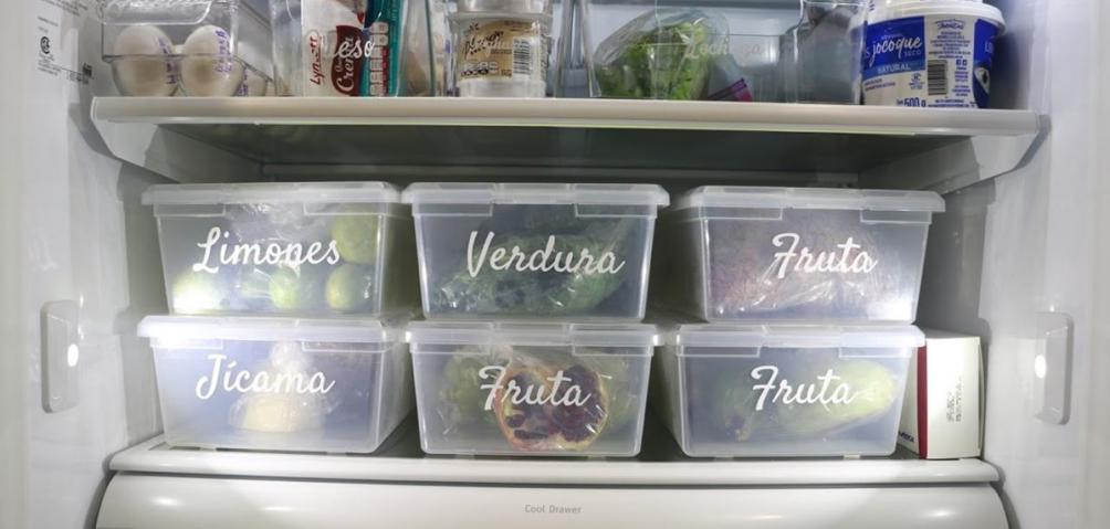 como organizar el refrigerador the neat freak mx