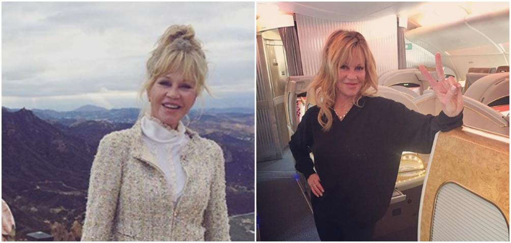 melanie griffith, dakota johnson, antonio banderas, melanie griffith redes sociales, melanie griffith instagram, melanie griffith en ropa interior
