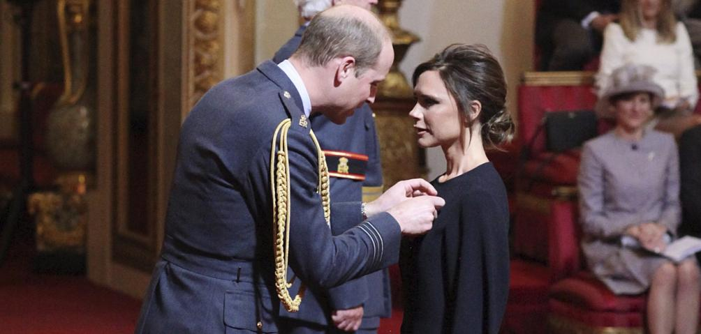 Victoria Beckham y Principe William