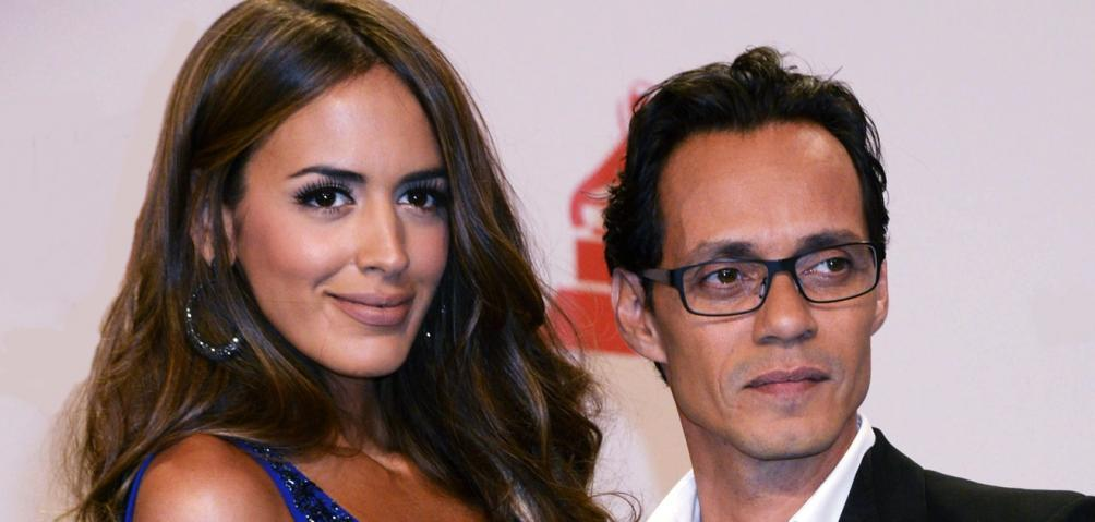 Marc Anthony y Shannon de Lima,