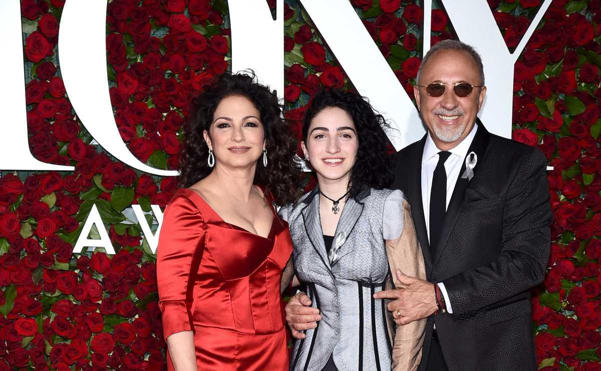 red table talk, gloria estefan, emilio estefan, emily estefan