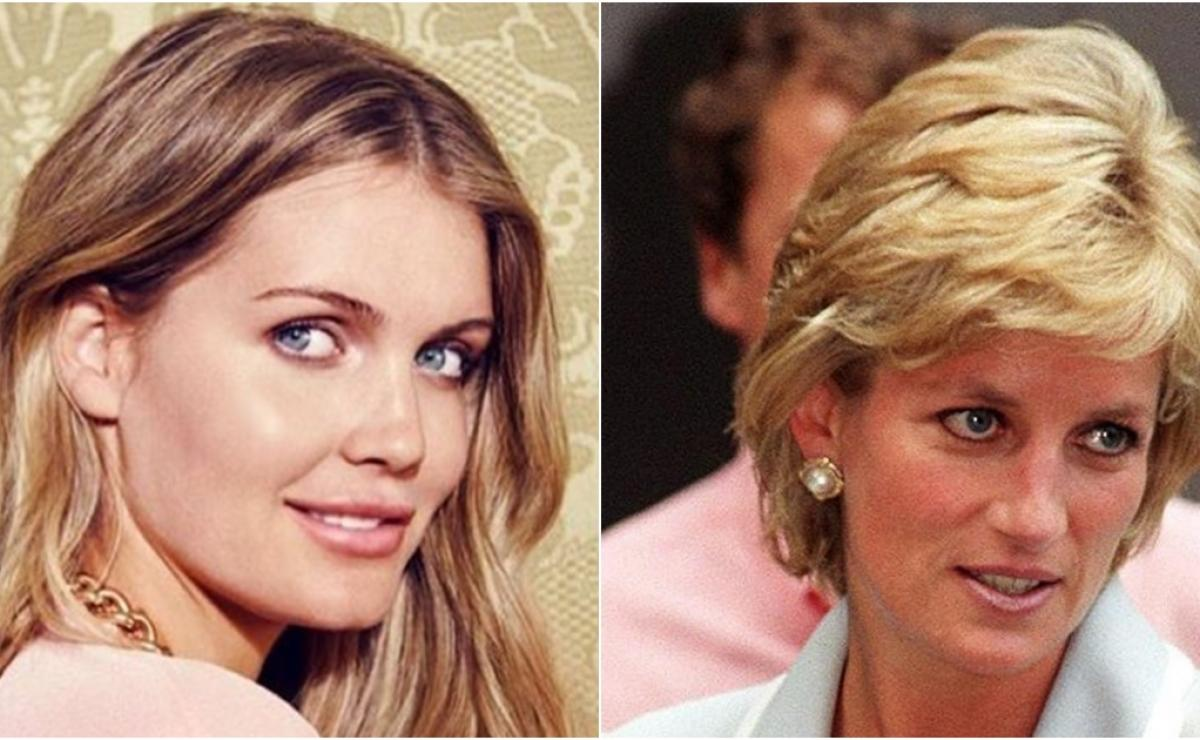 Kitty Spencer y Lady Di,