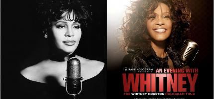 whitney houston, whitney houston holograma, whitney houston gira de conciertos