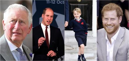 príncipe william. príncipe harry, herederos al trono británico,