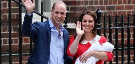 principe william. kate middleton, principe louis