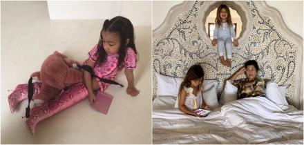 penelope hija kourtney kardashian, north west hija kim kardashian