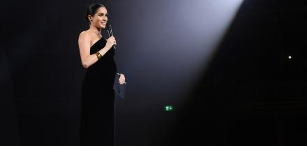 meghan markle british fashion awards,
