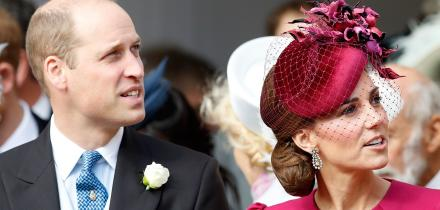 príncipe William, Kate Middleton, el detalle de William con Eugenia en su boda,