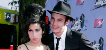 Amy Winehouse y Blake Fielder