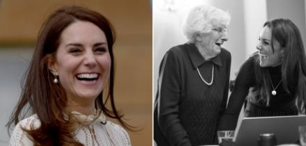 kate middleton, kate middleton fotografias del holocausto, kate middleton toma fotos a sobrevivientes holocausto