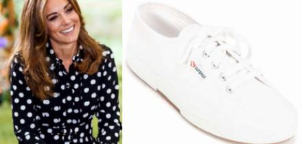 Kate Middleton, sneakers, tenis favoritos, Superga