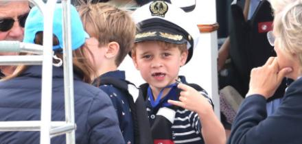 Principe george, dientes principe george, duques de cambridge, kate middleton, principe william