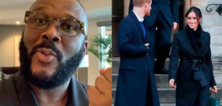 Tyler Perry principe harry meghan markle mansion