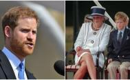 harry de sussex y su mama, princesa diana y harry, terapia principe harry