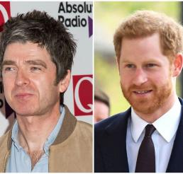 noel gallagher, principe harry, the crown