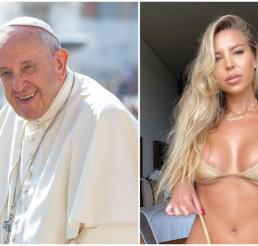 papa francisco, natalia garibotto, instagram papa francisco