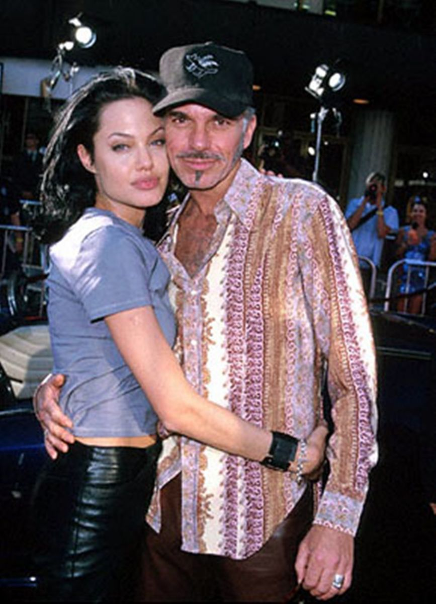 Billy Bob Thornton y Angelina Jolie