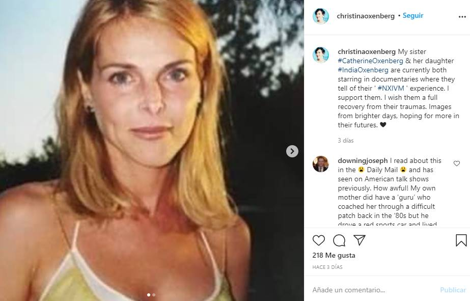 catherine oxenberg secta nxivm