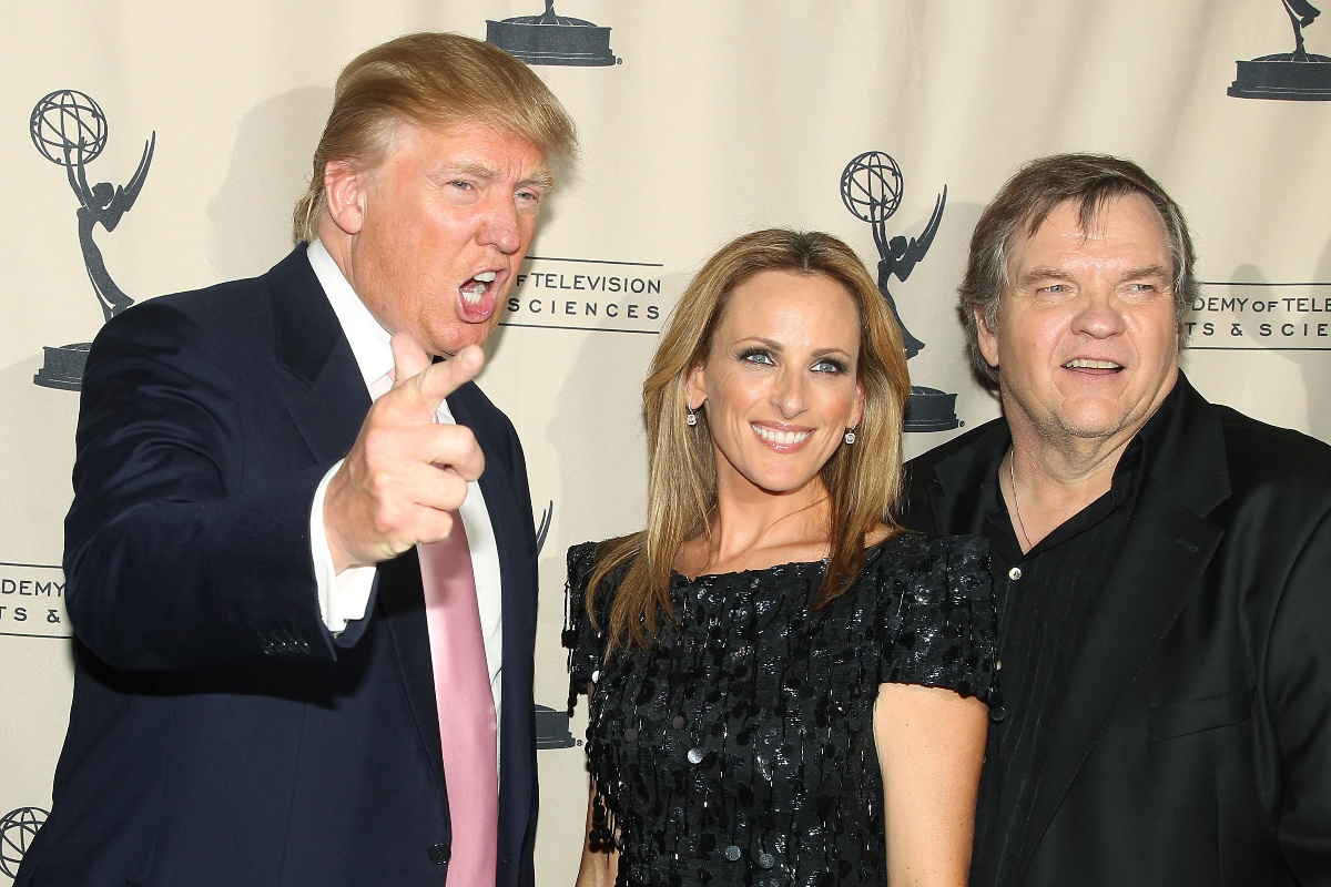 Donald Trump Marlee Matlin Meatloaf The Celebrity Apprentice Emmy