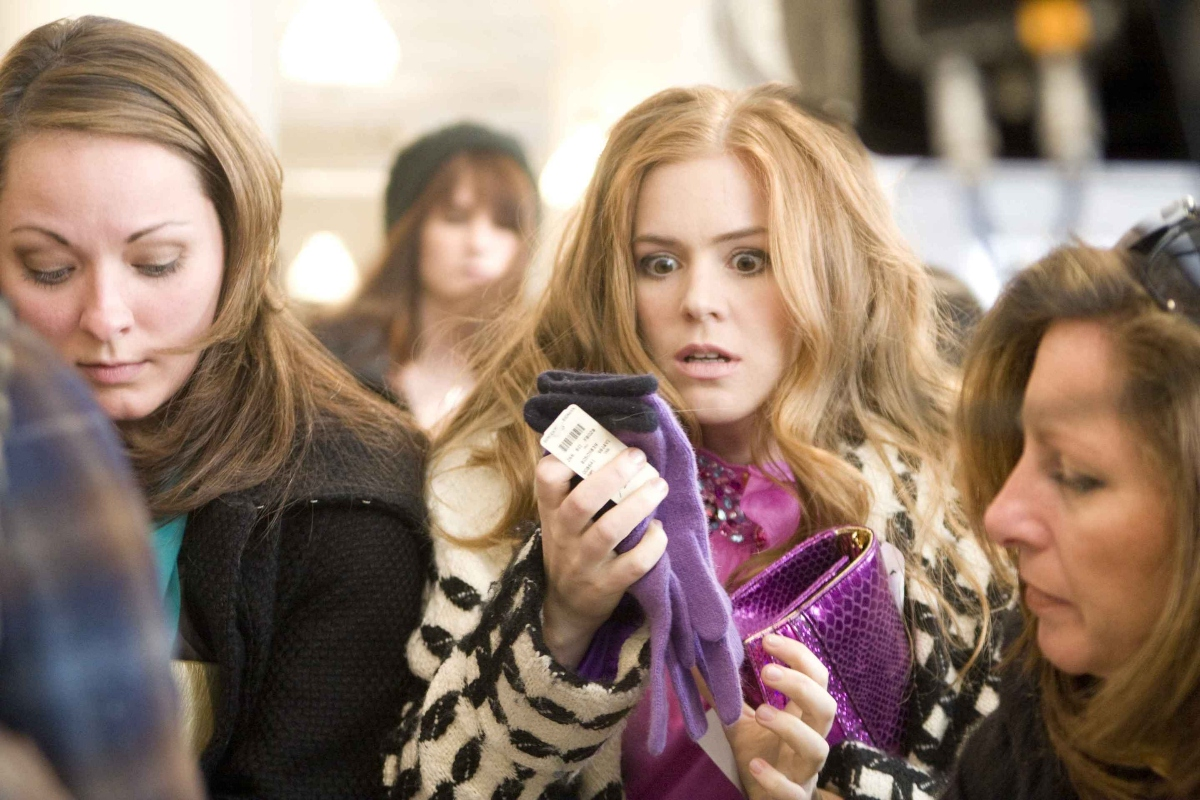 Isla Fisher, Confessions of a Shopaholic, Patricia Field