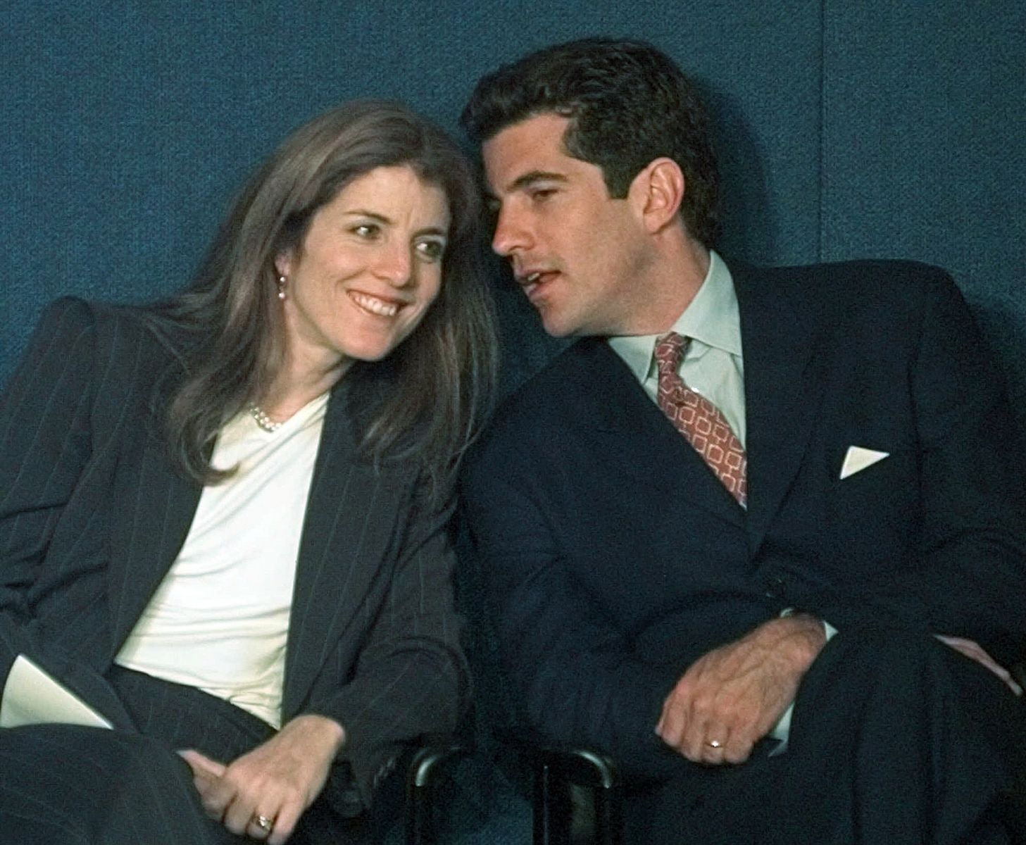 Kennedy Jr. y su esposa