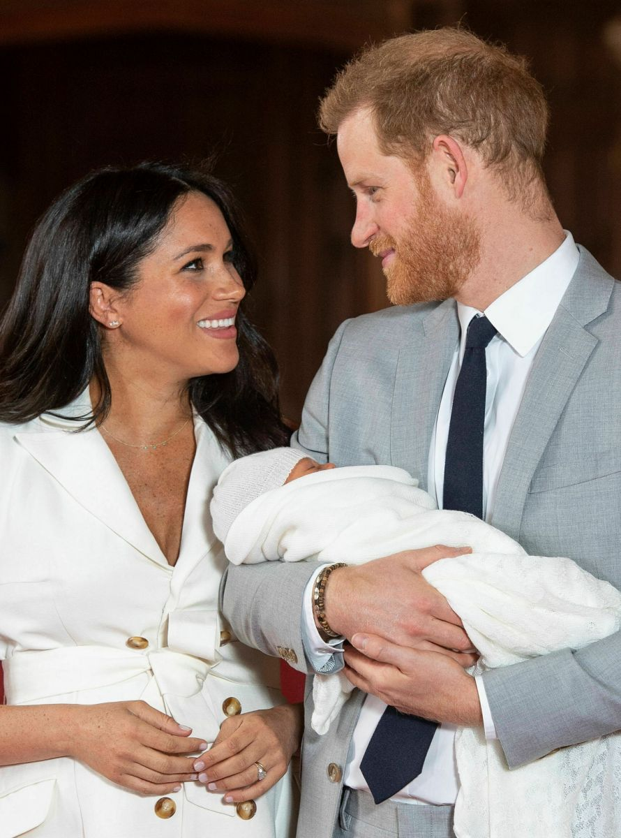 archie hijo harry son meghan sussex