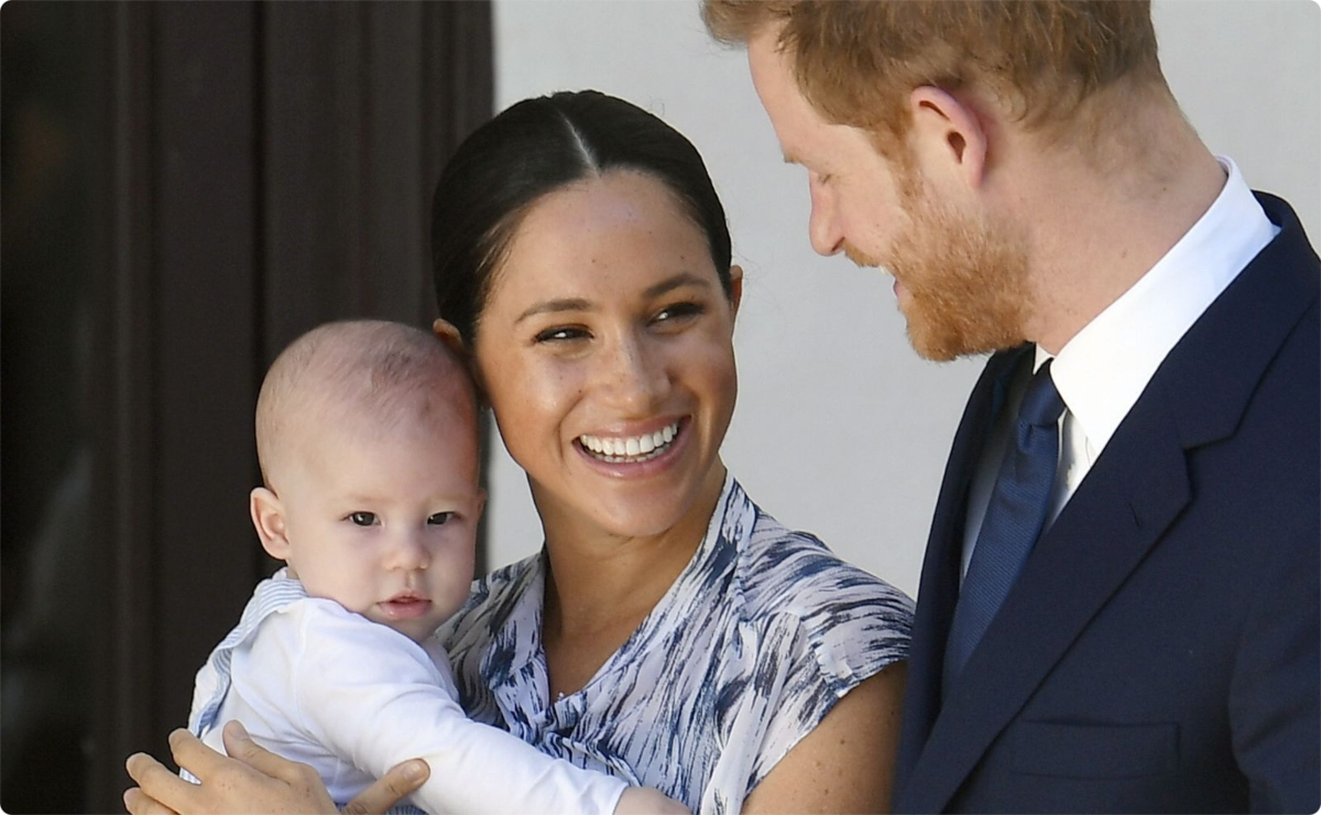 archie meghan markle y harry