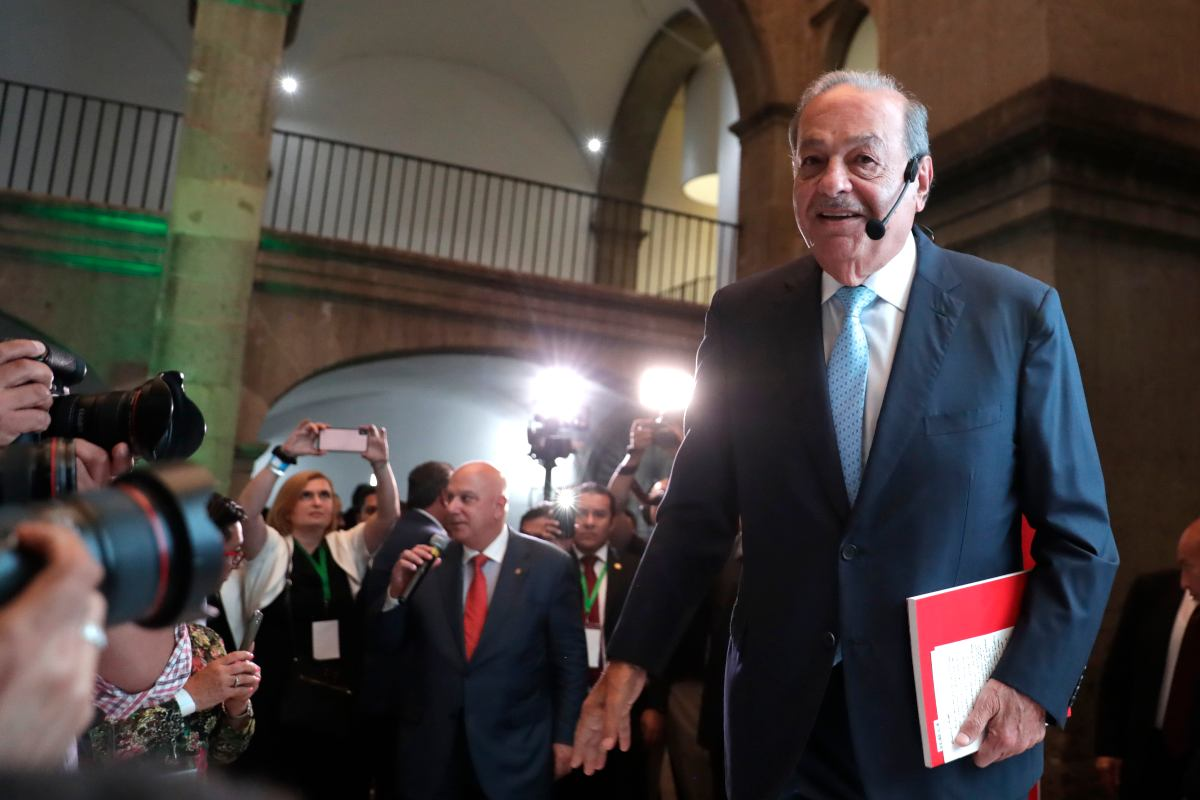 Carlos slim, UNITED States of amlo
