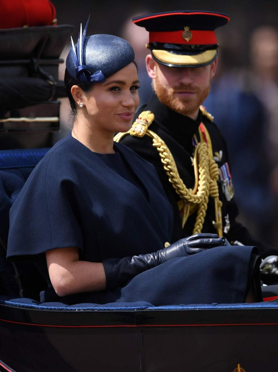 harry meghan desfile