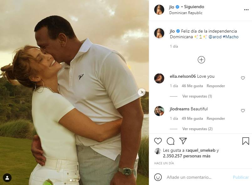 jennifer lopez alex rodriguez republica dominicana