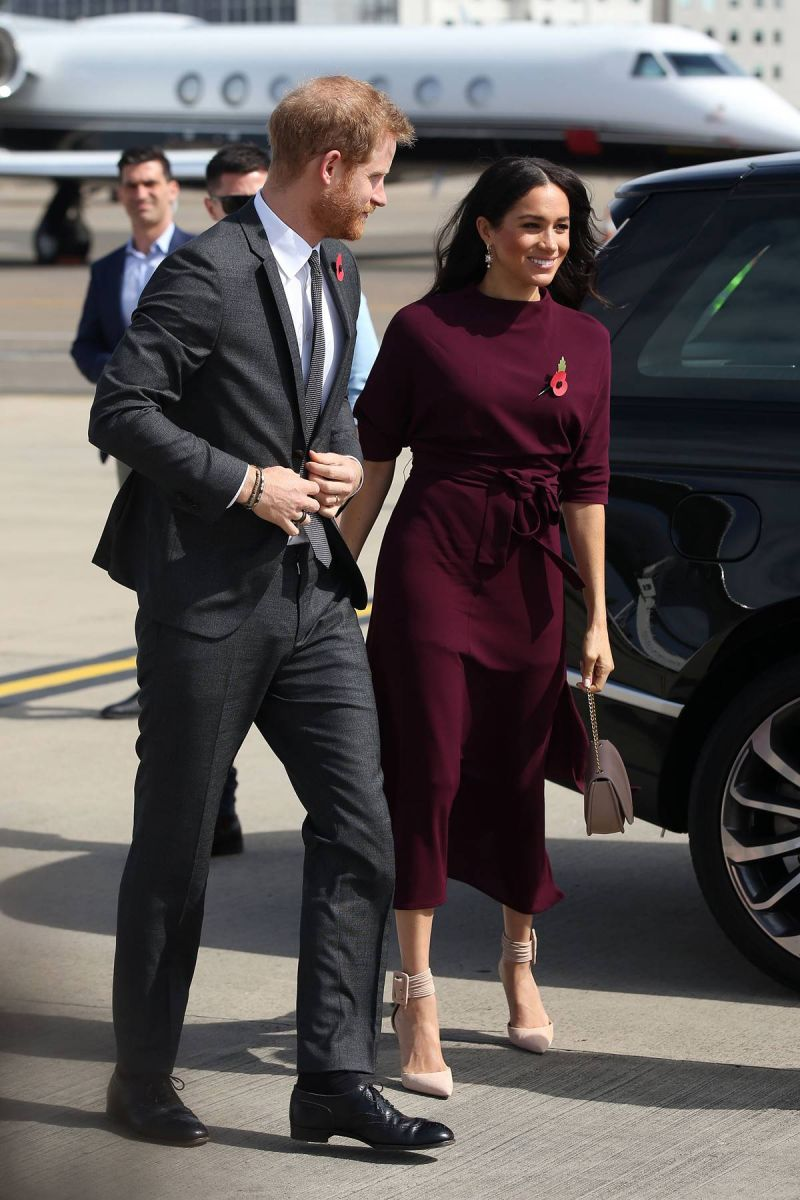 meghan markle harry de sussex seguridad