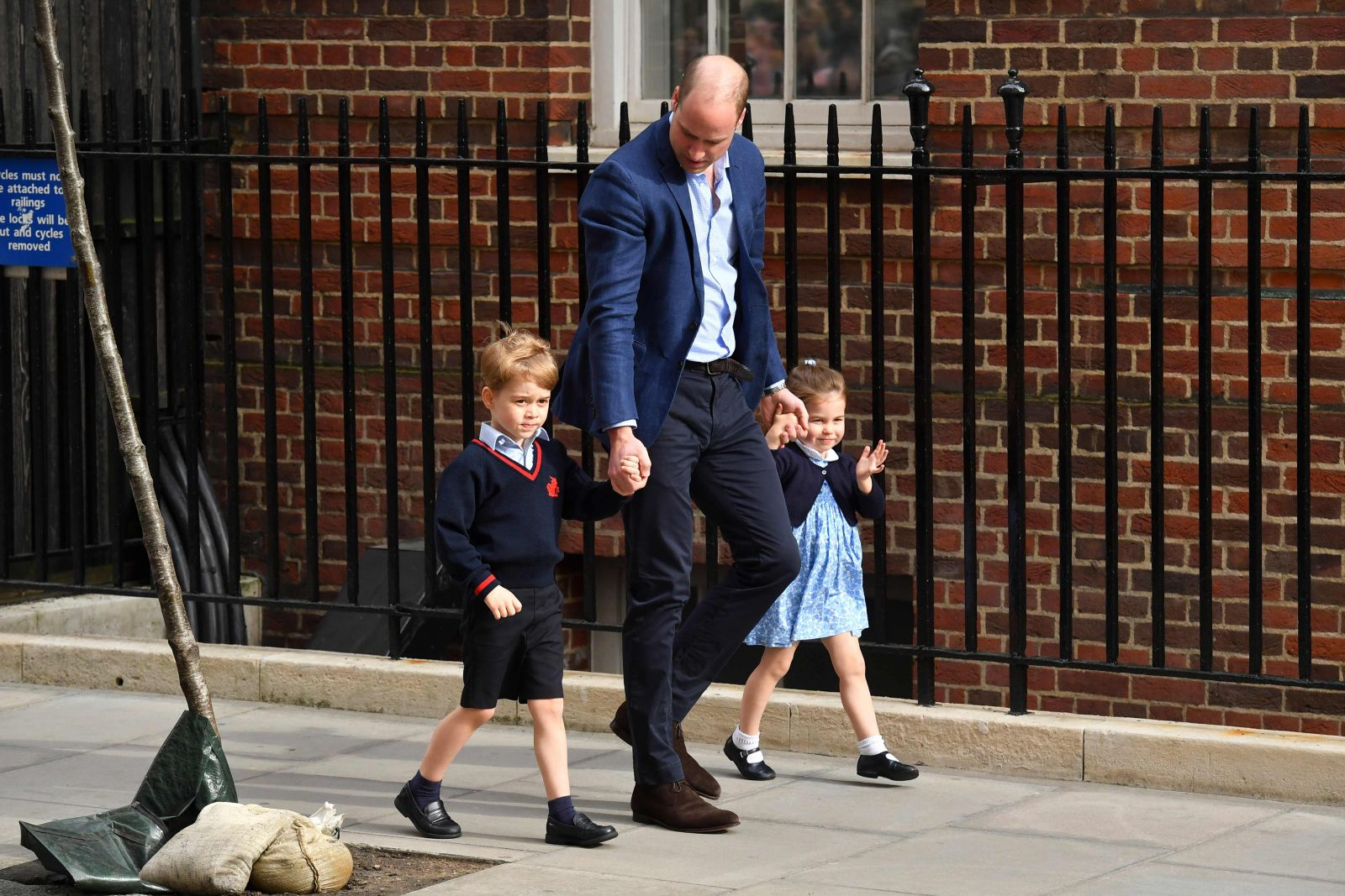 Back to school, principe george, regreso escuela principe george, kate middleton, principe william, hijo principe william y kate middleton