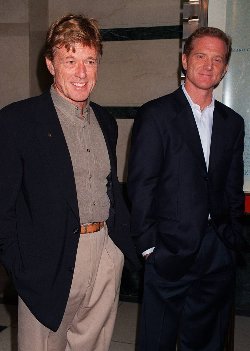 robert redford hijo james redford